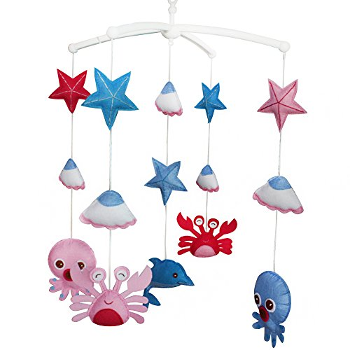 Starts Baby Mobile, Bébé Mobile Musical, Lit Bébé Mobile, Créatures aquatiques