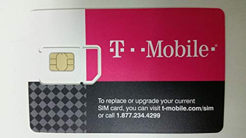 Preloaded Tmobile sim card With Prepaid plan $50 10GB 4G LTE