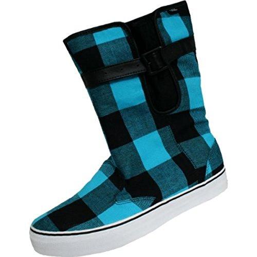 Vans Schuhe/Stiefel Rainy Day Buff Plaid Black/Blue - Skateboard Shoes, Schuhgrösse:36.5