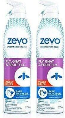 Zevo Fly, Fruit Fly, Gnat & Flying Insect Killer & Repellent (2- Pack)