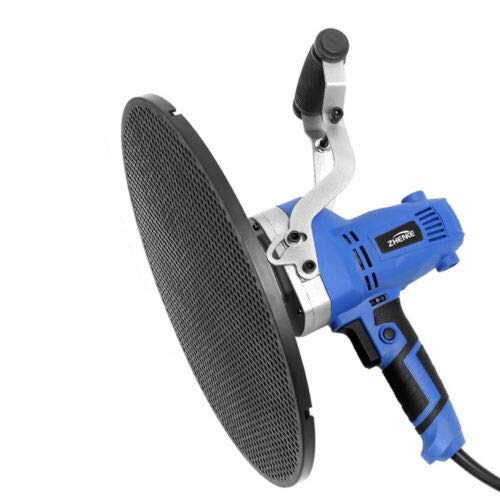 Electric Trowel Wall Smoothing Polishing Machine, 110 850W Trowel Wall Smoothing Polishing Machine Kit Concrete Cement Mortar (Blue)