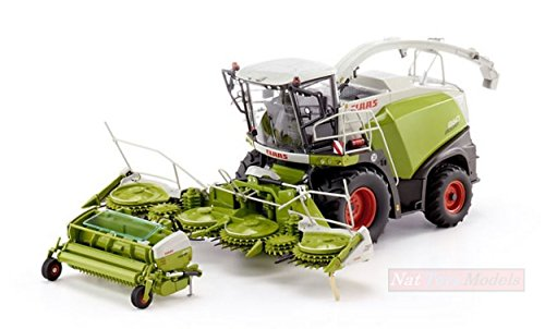 Wiking WK7812 CLAAS Jaguar 860 Forage Harv.with ORBIS 750/PICK UP 300 1:32 Model kompatibel mit