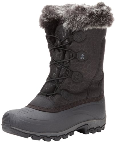 Kamik Women's Momentum Snow Boot, Black, 8.5 M