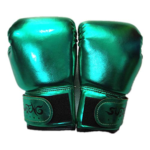 Aimik Kids Boxing Gloves, Boxing Gloves for Kids 3-10, Youth Boxing Gloves, Children Sparring Boxing Gloves for Punching Bag Training Fight, Kickboxing, Muay Thai, MMA, Best Birthday Gift (Green)