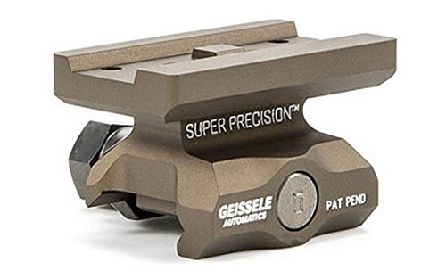 Geissele Super Precision T1 Series Scope Mount,Lower 1/3 Co-Witness,Desert Dirt Color