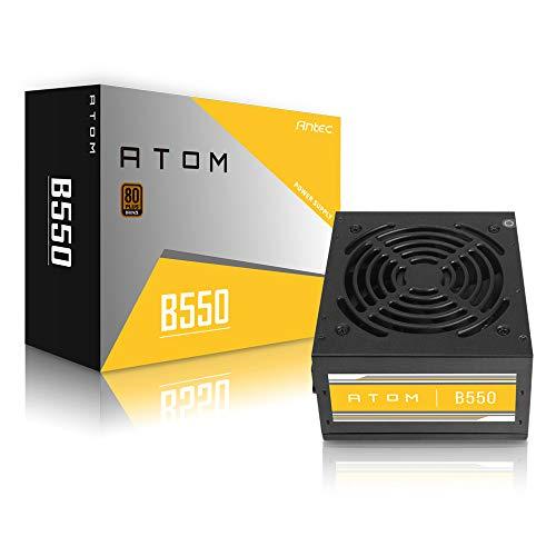 Antec B550 Bronze 550 Watt 80 Plus Certified Power Supply with Active Power Factor Correction (APFC) (B 550)
