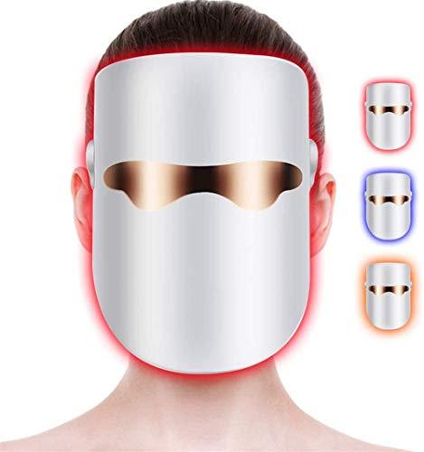 MAIZHAN LED Photon Light Therapy Face Mask Rajeunissement Spectral de la Peau Anti-Rides Blanchiment Nettoyage de l'acné LED Beauty Face Light Therapy of Red Blue Orange