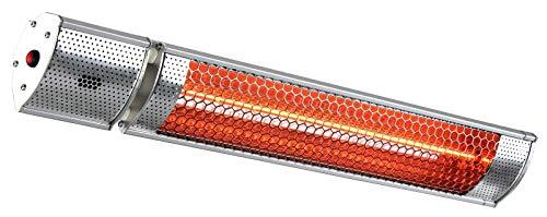 CasaFan S2000 Terrassen-Strahler 2000W 11m² Silber