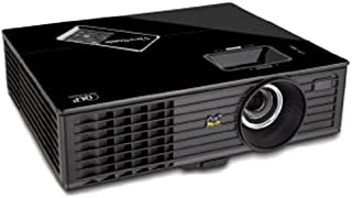 ViewSonic PJD5126 300-Inches 720i SVGA DLP Projector with 2700 ANSI Lumens,4000:1 Contrast Ratio,120Hz/3D-Ready, Integrated Speaker and Smart ECO - Black