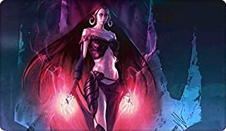 Liliana of The Dark Realms Board Cards Games Play Mat Table pad Size 60x35 cm Mousepad playmats with Waterproof Storage Bag for MTG ygo CCG TCG yugioh Pokemon Magic The Gathering