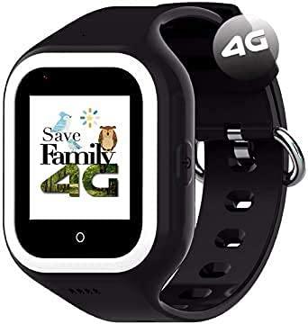 Reloj-Smartwatch 4G ICONIC con Videollamada & GPS instantáneo Infantil y juvenil SaveFamily....