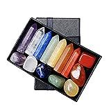 SM SunniMix Colección de Gemas de topacio de Jaspe Rojo de Forma Irregular con Piedras de energía de Cristal de 14 Piezas Multicolores para Acuario