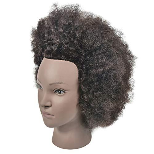 WIG Modèle Professionnel en Coiffure Formation Chef beauté Marottes et Table Clip Station Plate Maquillage des Cheveux Rouleau Perm