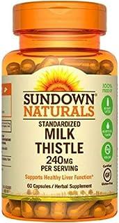 Sundown Naturals Milk Thistle 240mg, 60 Capsules ea