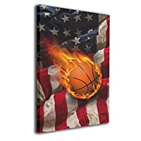 Skydoor J パネル ポスターフレーム 野球とアメリカの旗 インテリア アートフレーム 額 モダン 壁掛けポスタ アート 壁アート 壁掛け絵画 装飾画 かべ飾り 30×20