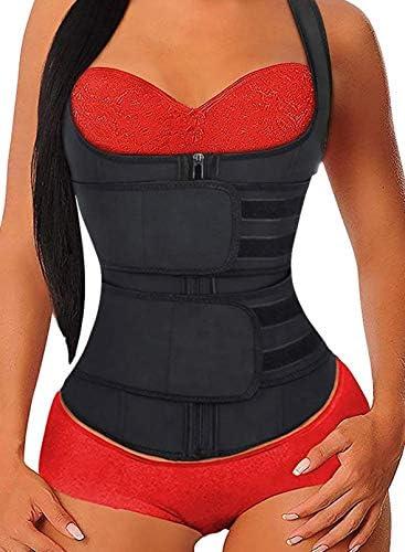 HOTAPEI Workout Waist Trainer Vest for Women Weight Loss Corset Trimmer Belt Waist Cincher Body product image