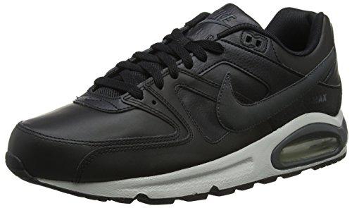 Nike Herren Air Max Command Leather Shoe Laufschuhe, Mehrfarbig Black Anthracite Neutral Grey 001, 38.5 EU