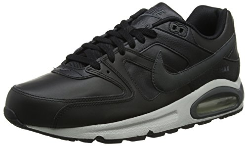 Nike AIR Max Command Leather, Baskets Homme, (Noir/Anthracite/Gris Neutre 001), 41 EU