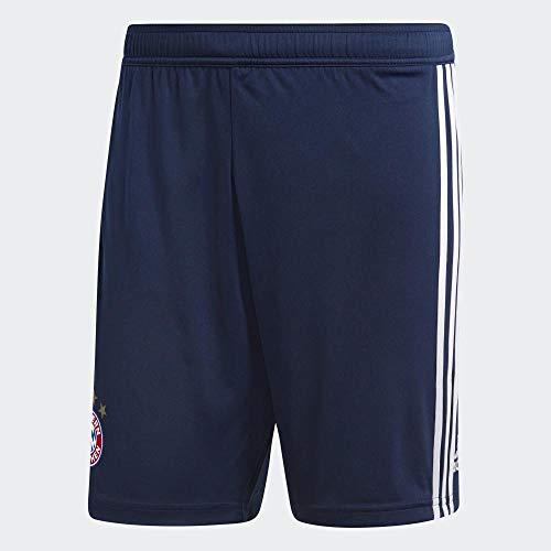 adidas Herren 18/19 FC Bayern Home Short, Collegiate Navy/White, XL