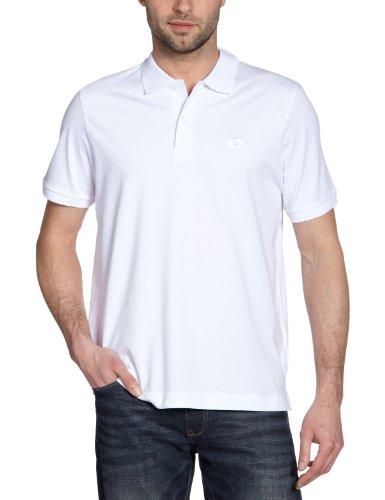 Lotto Sport - Polo de Deporte para Hombre, tamaño XXL, Color Blanco