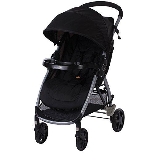 Safety 1st 1220764000 Step & Go, Kinderwagen, Full Black, schwarz