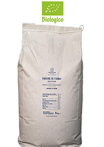 Farina integrale di farro monococco macinata a pietra - 2 sacchi da 5 kg