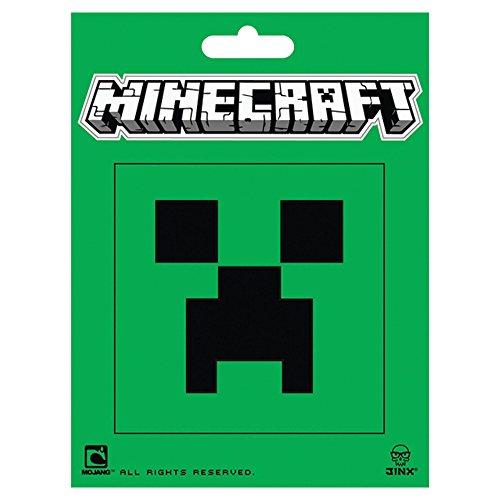 JINX 8 x 8 cm Minecraft Creeper Visage Autocollant