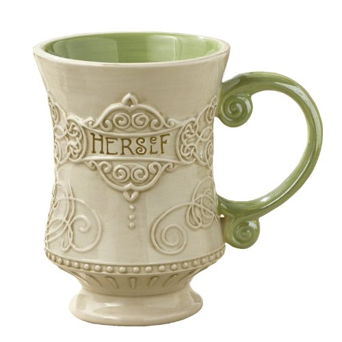 Grasslands Road Celtic 10-Ounce'Herself' Irish Coffee Mug, Gift Boxed