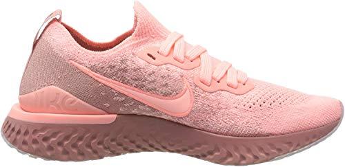 Nike Damen Epic React Flyknit2 Traillaufschuhe, Pink (Pink Tint/Pink Tint-Rust Pink 600), 39 EU