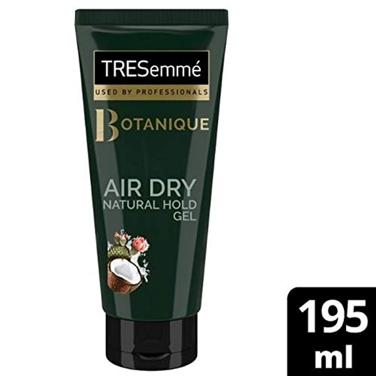対応するトラクターホーム[Tresemme] Tresemme空気乾燥天然ホールドゲル195ミリリットル - TRESemme Air Dry Natural Hold Gel 195ml [並行輸入品]