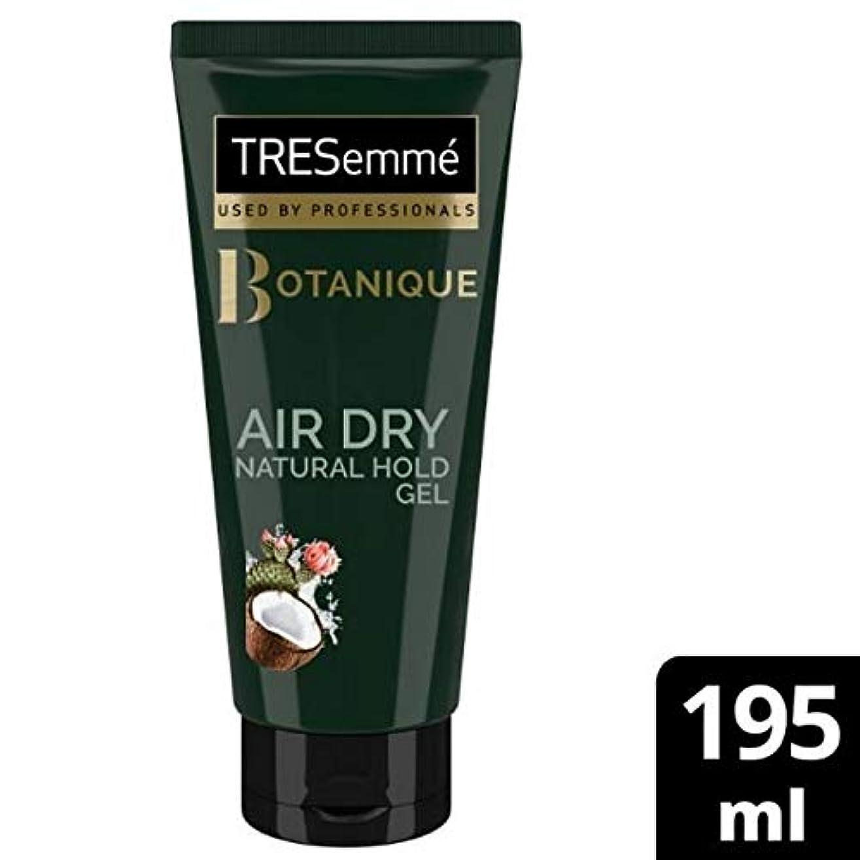 メーター立派な旅[Tresemme] Tresemme空気乾燥天然ホールドゲル195ミリリットル - TRESemme Air Dry Natural Hold Gel 195ml [並行輸入品]