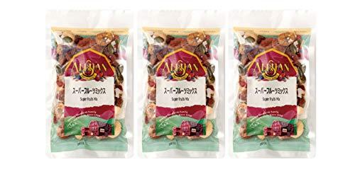 無添加 有機 スーパーフルーツミックス 100g×3個 ★ レターパック赤 ★原材料・原産国:日本 :有機アプリコット, 有機カシューナッツ, 有機バナナチップス, 有機マルベリー, 有機ゴージベリー, 有機かぼちゃの種, 有機ココナッツチップス、有機ゴー