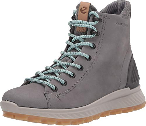 ECCO Damen EXOSTRIKEW Sneaker Outdoor Mid/High-cut Boot, Grau (Wild Dove 1539), 38 EU