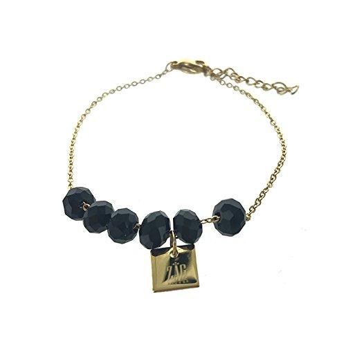 My Unique Style Zag braccialetto corallo nero
