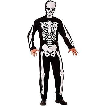Disfraz de Esqueleto para hombre: Amazon.es: Juguetes y juegos