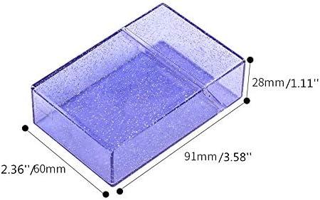 Clear glitter cigarette case _image0