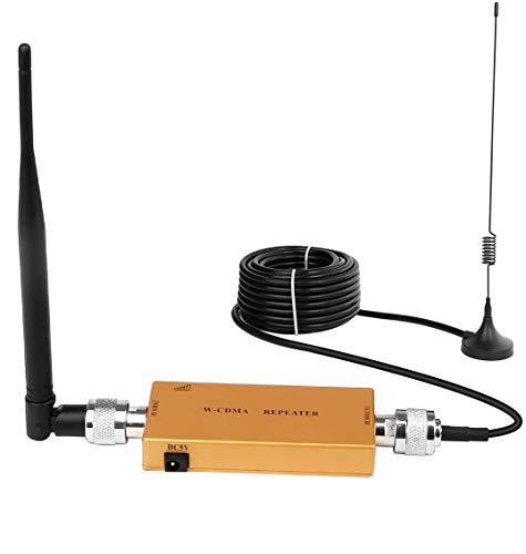 Yuanj 3G gsm 2100MHz Segnale Booster Amplificatori di Segnale per Cellulari per Tim Wind VODAFONE Tre (d'oro)