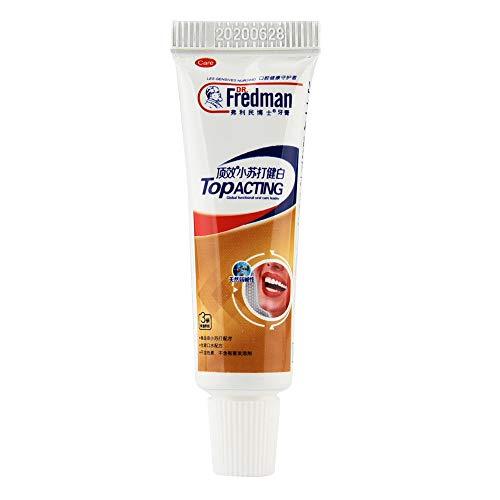 HoSayLike Bicarbonato de sodio Pasta de dientes blanca Blanqueamiento dental Limpieza Higiene Cuidado bucal Pasta de dientes avanzada Bicarbonato de sodio Peróxido Control de sarro