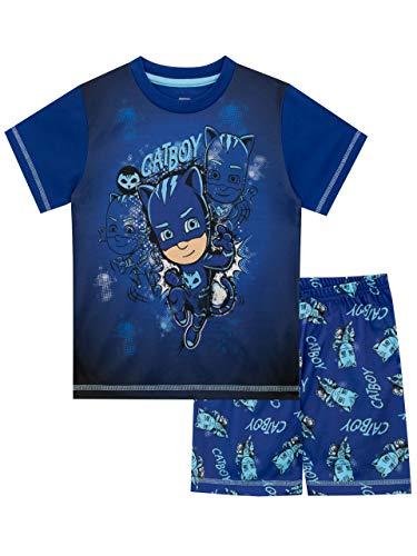 PJ Masks Jungen Catboy Schlafanzug Blau 134