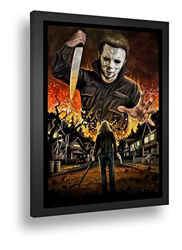 Quadro Decorativo Poster Jack Estripador Halloween
