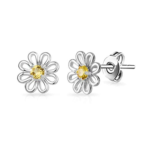 Daisy Crystal Stud Earrings Created with Austrian Crystals