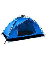 Velocidad automática Abierto acampando al Aire Libre Tienda de campaña de una Sola Capa Doble 2-4 Personas, Tiendas de campaña, Camping, Tiendas de campaña al Aire Libre, Supervivencia Salvaje