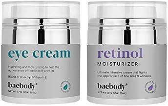 Baebody Eye Cream & Retinol Moisturizer Bundle