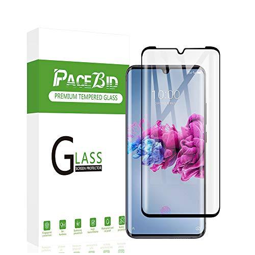 PaceBid Panzerglas Schutzfolie Kompatibel mit ZTE Axon 11, Full Coverage, 9H Festigkeit, Anti-Kratzer, Ultra Klar, Blasenfrei,Fall Fre&lich Hartglas Bildschirmschutzfolie für ZTE Axon 11
