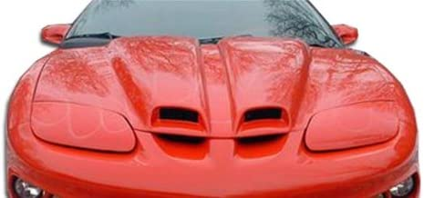 Extreme Dimensions Duraflex Replacement for 1998-2002 Pontiac Firebird Trans Am WS-6 Hood - 1 Piece