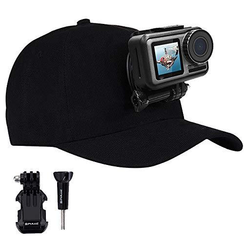 Lankater 1pcs Multifuncional Gorra De Béisbol Abrazadera Acción Sombrero Cámara Con Hebilla De Liberación Rápida Del Montaje Por Fotógrafo