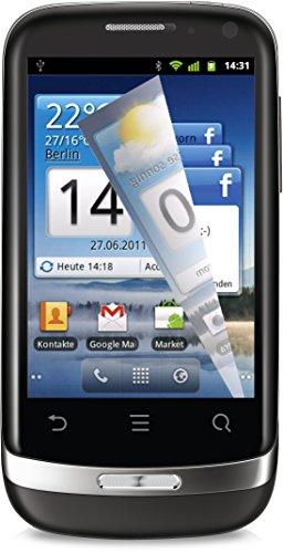 Huawei Ideos X3 (U8510 Blaze) Handy (8,1 cm (3,2 Zoll) Display, kapazitiver Touchscreen, 3,2 Megapixel Rückkamera, VGA Frontkamera, Android 2.3) schwarz