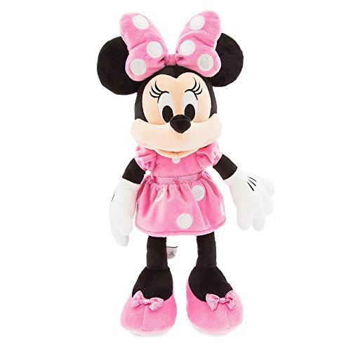 Disney ディズニー Minnie Mouse Plush ミニーマウス ぬいぐるみ ピンク 中サイズ 18インチ 46cm 2018 [並...