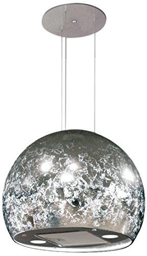 Nodor Isla Venus Kronleuchter aufgehoben Silber 790M³/h–Hauben (790M³/h, führt, 49dB, 63dB, Kronleuchter aufgehoben, silber)