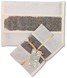 elizabethW 63239 Lavender Pillow Insert in Ivory Linen